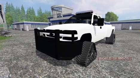 Chevrolet Silverado [brush truck] for Farming Simulator 2015