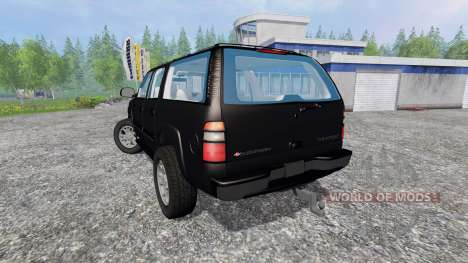 Chevrolet Suburban [custom] for Farming Simulator 2015