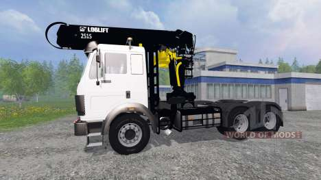 Mercedes-Benz SK [forest] for Farming Simulator 2015