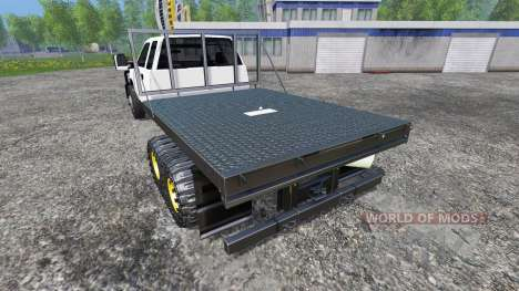 Chevrolet Silverado [FlatTrack] for Farming Simulator 2015