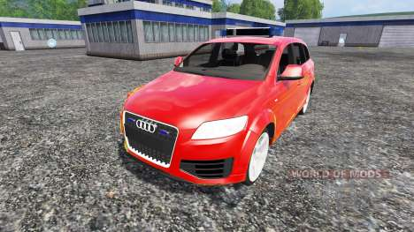 Audi Q7 for Farming Simulator 2015