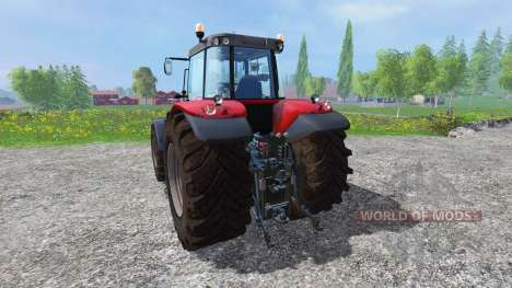 Massey Ferguson 7626 v1.8 for Farming Simulator 2015