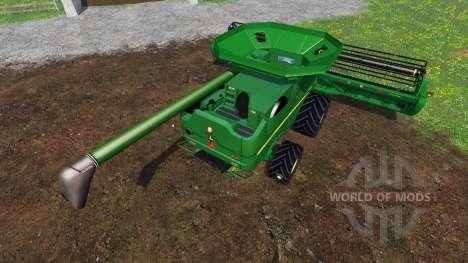 John Deere S680 [pack] for Farming Simulator 2015