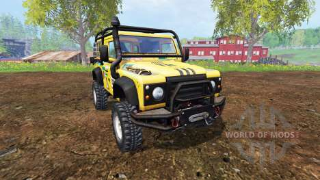 Land Rover Defender 90 v2.0 for Farming Simulator 2015