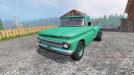 Chevrolet C10 Fleetside 1966 [custom] for Farming Simulator 2015