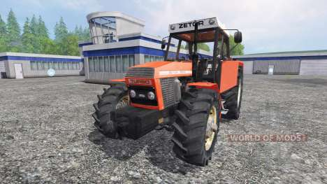 Zetor 12145 [forest] for Farming Simulator 2015