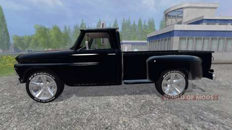 Chevrolet C10 Fleetside 1966 [tuning] for Farming Simulator 2015