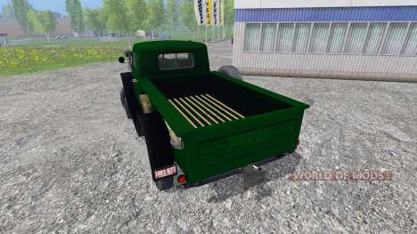Dodge Power Wagon WM-300 for Farming Simulator 2015