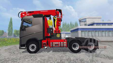 Volvo FH16 750 [grumier] for Farming Simulator 2015