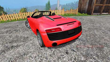 Audi R8 Spyder for Farming Simulator 2015