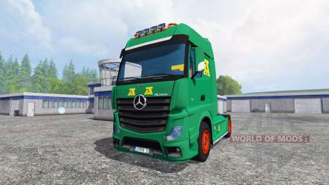 Mercedes-Benz Actros MP4 v2.0 [AguasTenias] for Farming Simulator 2015
