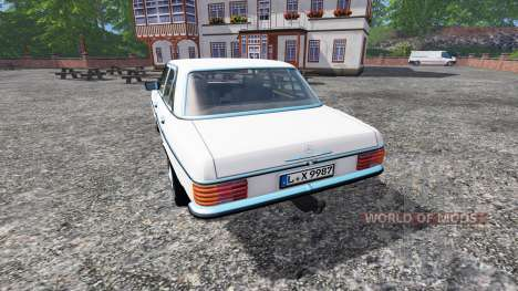Mercedes-Benz 200D (W115) 1973 v1.5 for Farming Simulator 2015