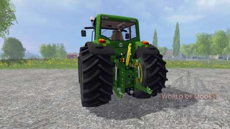 John Deere 7530 Premium v3.0 for Farming Simulator 2015