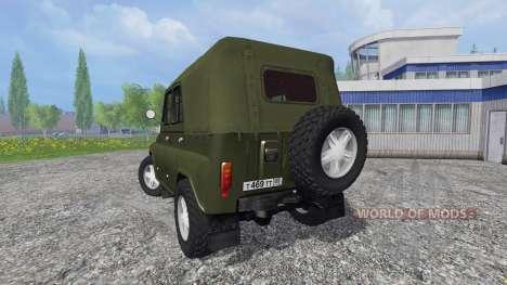 UAZ-469 for Farming Simulator 2015