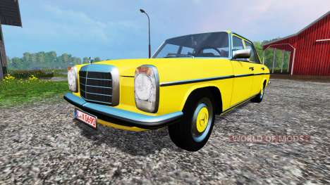 Mercedes-Benz 200D (W115) 1973 v1.2 for Farming Simulator 2015
