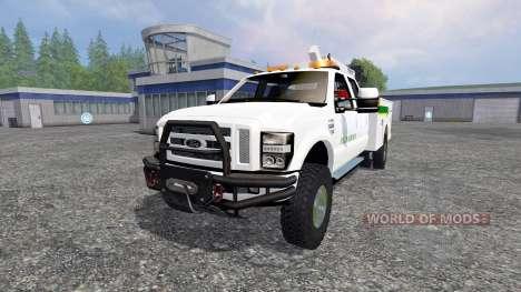 Ford F-350 Field Service for Farming Simulator 2015