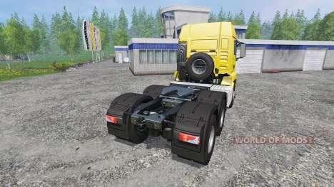 MAN TGS 18.440 6X6 for Farming Simulator 2015