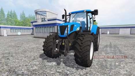 New Holland T7030 [final] for Farming Simulator 2015