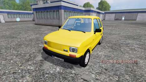 Fiat 126p 650E for Farming Simulator 2015