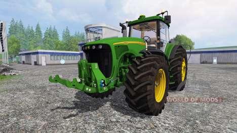 John Deere 8220 v2.5 for Farming Simulator 2015