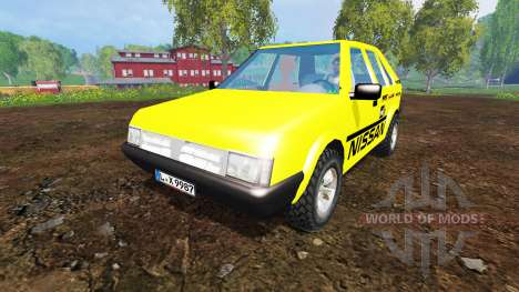 Nissan Micra [racing edition] v3.0 for Farming Simulator 2015