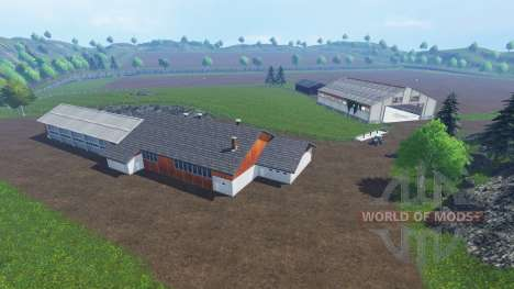 Hagestedt v1.1 for Farming Simulator 2015
