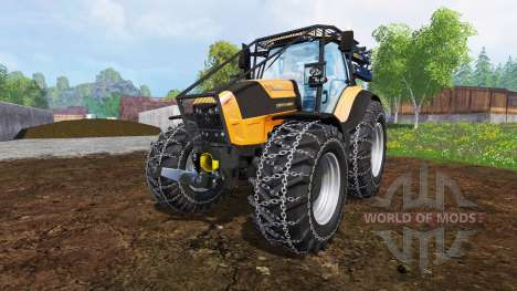 Deutz-Fahr Agrotron 7250 TTV [forestry] v1.2 for Farming Simulator 2015
