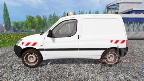 Peugeot Partner v2.0 for Farming Simulator 2015