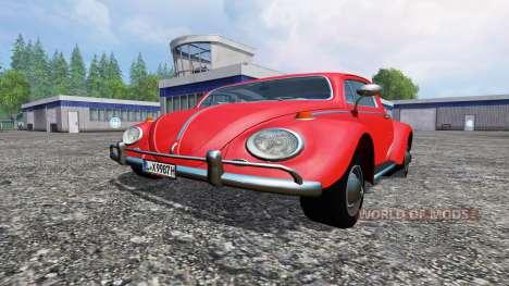 Volkswagen Beetle 1966 v1.2 for Farming Simulator 2015