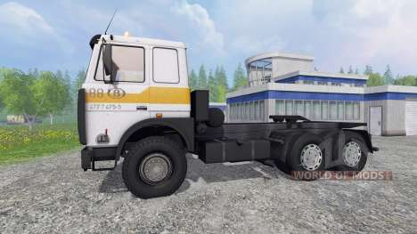 MAZ-5516 for Farming Simulator 2015