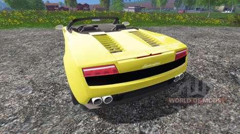 Lamborghini Gallardo Spyder for Farming Simulator 2015