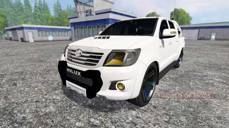 Toyota Hilux [city version] v1.2 for Farming Simulator 2015