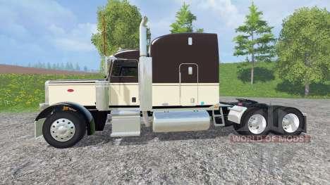 Peterbilt 388 v1.1 for Farming Simulator 2015