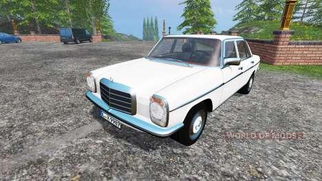 Mercedes-Benz 200D (W115) 1973 v1.5 for Farming Simulator 2015