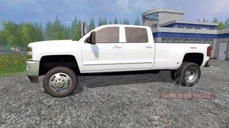 Chevrolet Silverado 3500 for Farming Simulator 2015