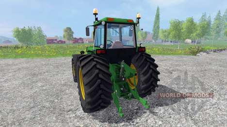John Deere 4455 4WD for Farming Simulator 2015