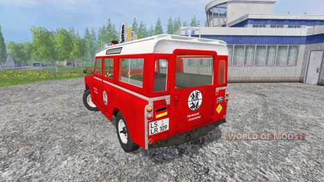 Land Rover Series IIa Station Wagon [feuerwehr] for Farming Simulator 2015