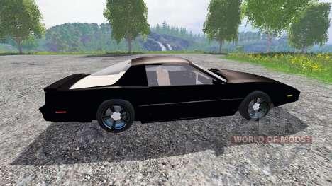 Pontiac Firebird Trans Am [K.I.T.T.] for Farming Simulator 2015