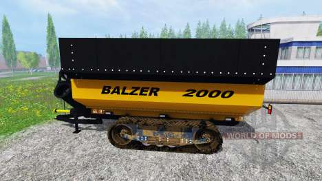 Balzer 2000 for Farming Simulator 2015