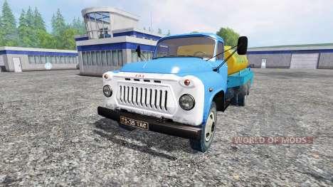 GAZ-53 [milk] for Farming Simulator 2015
