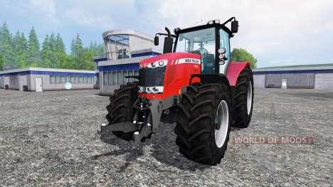 Massey Ferguson 7726 v2.0 for Farming Simulator 2015