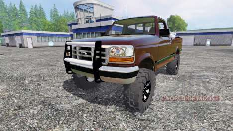 Ford F-1000 v2.0 for Farming Simulator 2015