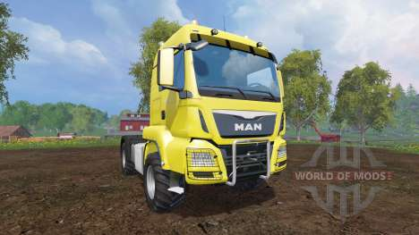 MAN TGS 18.440 [agricultural] v2.1 for Farming Simulator 2015
