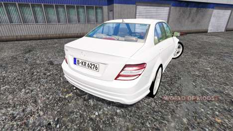 Mercedes-Benz C350 CDI v1.1 for Farming Simulator 2015