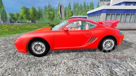 Porsche Cayman for Farming Simulator 2015