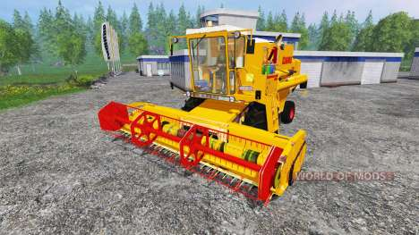 CLAAS Dominator 105 v2.0 for Farming Simulator 2015