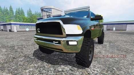 Dodge Ram 2500 2012 v4.0 for Farming Simulator 2015