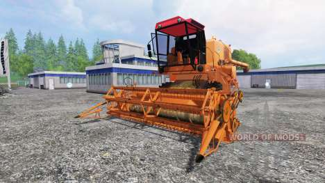 Bizon Z056 [orange] for Farming Simulator 2015