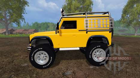 Land Rover Defender 90 [offroad] v2.0 for Farming Simulator 2015