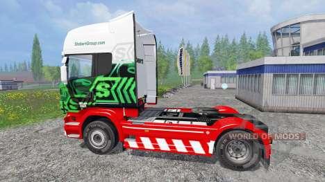 Scania R560 [eddie stobart] for Farming Simulator 2015
